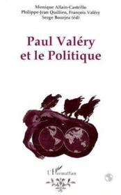 Paul Valery Et Le Politique - Couverture - Format classique