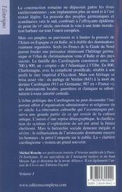 Histoire du moyen-age tome 1 - 4ème de couverture - Format classique