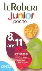 Le robert junior poche 8-11 ans - Intérieur - Format classique