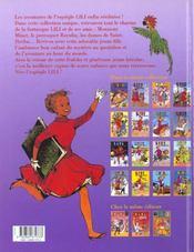 Lili t.16 ; Lili en Grèce - 4ème de couverture - Format classique