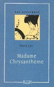 Madame Chrysantheme - Intérieur - Format classique