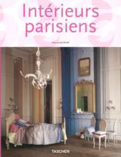Intérieurs parisiens - Couverture - Format classique