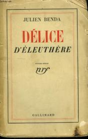 Delice D'Eleuthere. - Couverture - Format classique