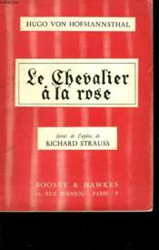 Le Chevalier A La Rose - Couverture - Format classique