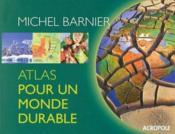 Atlas pour un monde durable - Couverture - Format classique