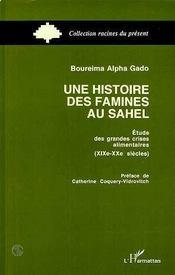 Une Histoire Des Famines Au Sahel - Intérieur - Format classique