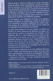 Histoire du moyen-age tome 2 - 4ème de couverture - Format classique