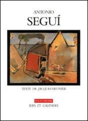 Antonio Segui - Couverture - Format classique