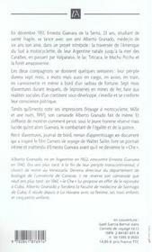 Sur La Route Avec Che Guevara - 4ème de couverture - Format classique