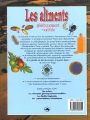 Sauvons la planete ; les aliments genetiquement modifies - 4ème de couverture - Format classique