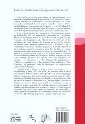 L'auteur entre biographie et mythographie - 4ème de couverture - Format classique