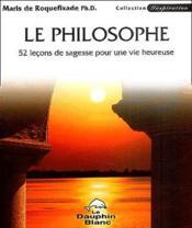 Philosophe - 52 lecons de sagesse - Couverture - Format classique