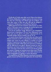 Prisonniers Des Glaces. Les Expeditions De Willem - 4ème de couverture - Format classique