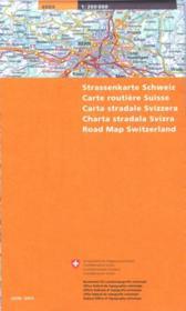 Carte nationale Suisse t.5 - Couverture - Format classique