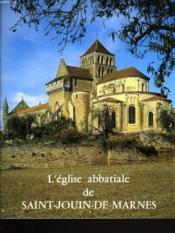 L'Eglise Abbatiale De Saint-Jouin-De-Marnes - Couverture - Format classique