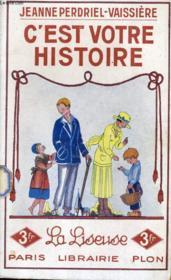 C'Est Votre Histoire - Couverture - Format classique
