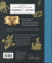 Le petit Larousse illustré des légendes et mythes - 4ème de couverture - Format classique