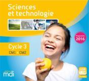 Mdi sciences cle usb cycle 3 - 2019 - Couverture - Format classique