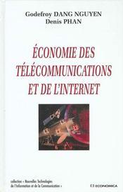 Economie Des Telecommunications Et De L'Internet - Intérieur - Format classique