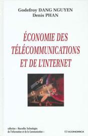 Economie Des Telecommunications Et De L'Internet - Couverture - Format classique