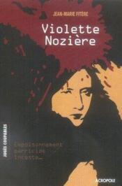 Violette nozière - Couverture - Format classique