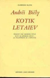 Kotik Letaiev - Couverture - Format classique