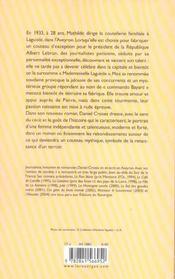 Mademoiselle Laguiole - 4ème de couverture - Format classique