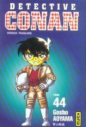 Detective Conan T44 - Intérieur - Format classique