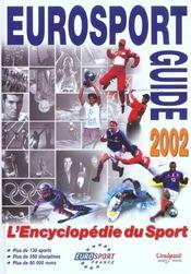 Eurosport guide ; edition 2002 - Intérieur - Format classique
