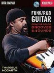 Berklee funk ; R&B guitar creative solos grooves & s - Couverture - Format classique