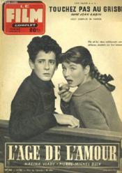 Film Complet N° 468 - L'Age De L'Amour - Couverture - Format classique