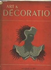 Art & Decoration N°15 - Couverture - Format classique