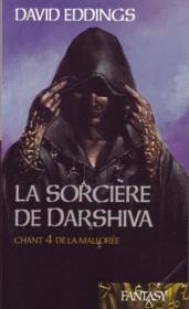 Chant IV de la Mallorée : La sorcière de Darshiva. - Couverture - Format classique