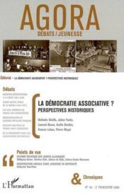 REVUE AGORA DEBATS JEUNESSES N.40 ; la démocratie associative ? perspectives historiques - Couverture - Format classique