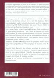 Chimie Inorganique 2e Annee Pc-Pc* Exercices Corriges - 4ème de couverture - Format classique
