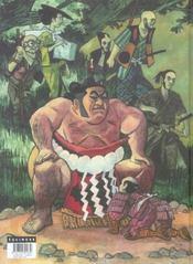 Les contes du 7e souffle t.4 ; Shitate Ya - 4ème de couverture - Format classique