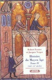 Histoire du moyen-age tome 4 - Intérieur - Format classique