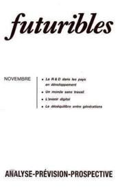 Futuribles N.104 Decembre 1986 - Couverture - Format classique