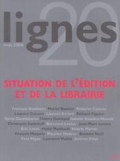 REVUE LIGNES T.20 ; situation de l'édition et de la librairie - Intérieur - Format classique