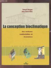 La Conception Bioclimatique Samuel Courgey