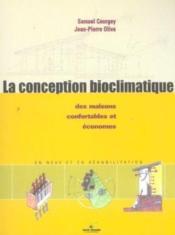 La conception bioclimatique - Couverture - Format classique