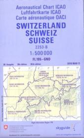Suisse, carte aéronautique OACI ; GND - FL 195 - Couverture - Format classique