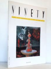 Enzo CUCCHI , Rob SCHOLTE [ Ninety - Art des années 90 / Art in the 90's , N° 2 , 1990 ] - Couverture - Format classique