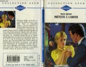 Pretexte A L'Amour - Cruel Conspiration - Couverture - Format classique