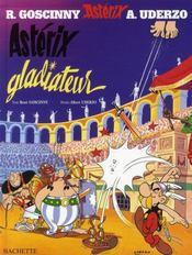 Astérix T.4 ; Astérix gladiateur - Intérieur - Format classique