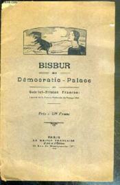 Bisbur Au Democratie-Palace - Couverture - Format classique
