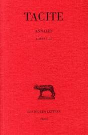 Annales t.1 à 3 - Couverture - Format classique