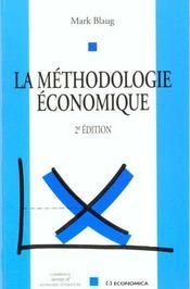 La Methodologie Economique - Intérieur - Format classique