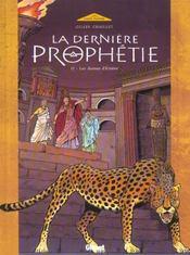 La dernière prophétie t.2 ; les dames d'Emèse - Intérieur - Format classique