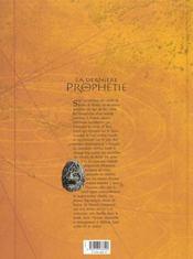 La dernière prophétie t.2 ; les dames d'Emèse - 4ème de couverture - Format classique